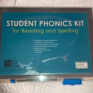 Student Phonics Kit for Reading and Spelling